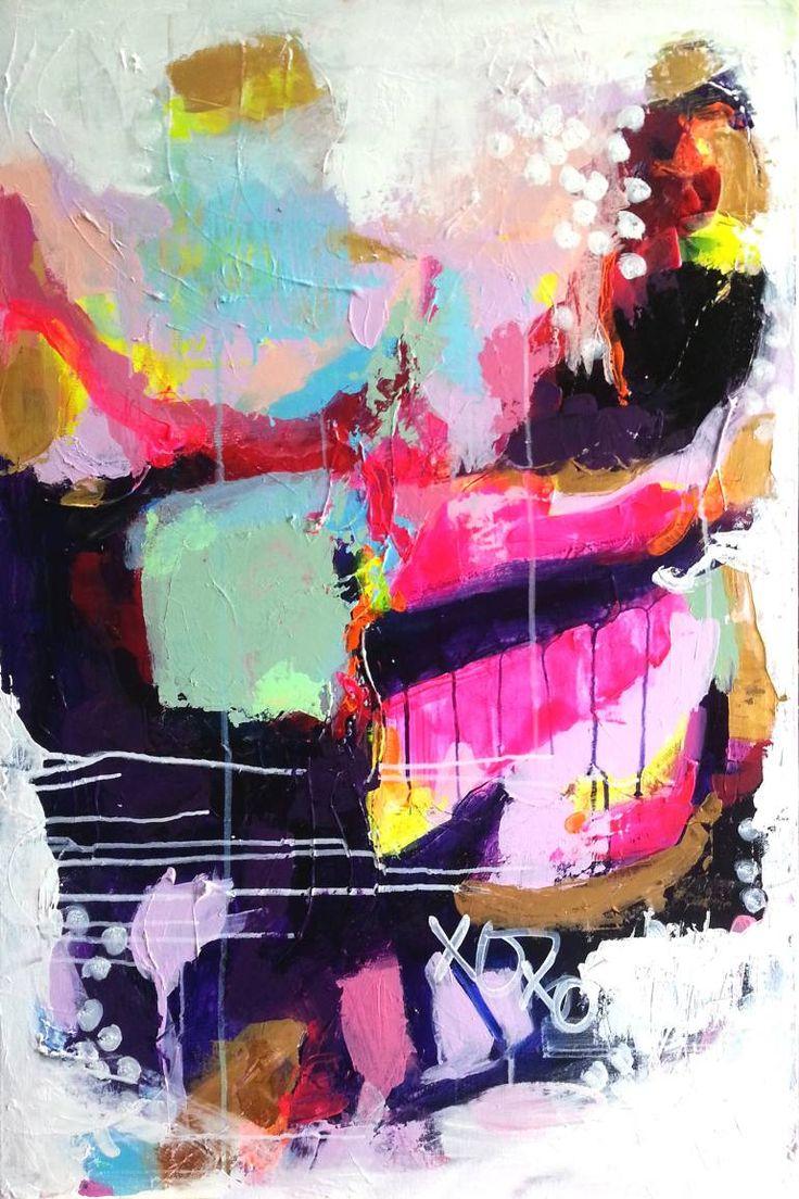 "Saatchi Art Artist DURA HANA; Painting, ""Billet-doux"" #art"