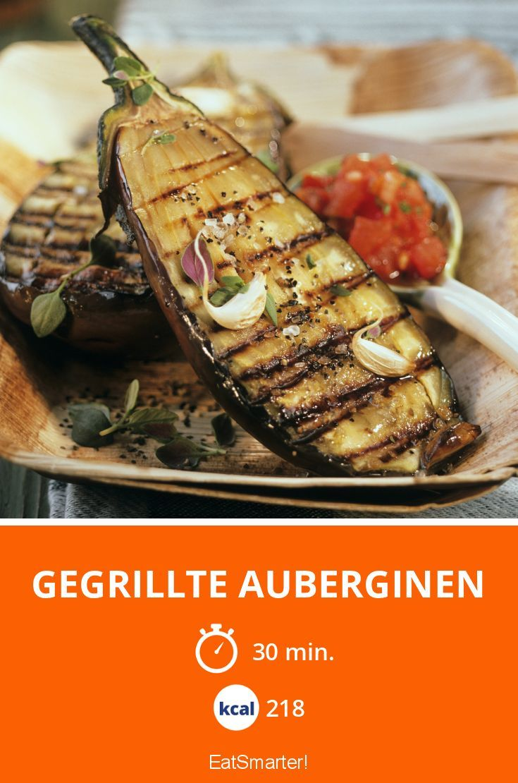 Low-Carb gegrillte Auberginen super smart und garantiert Low-Carb.