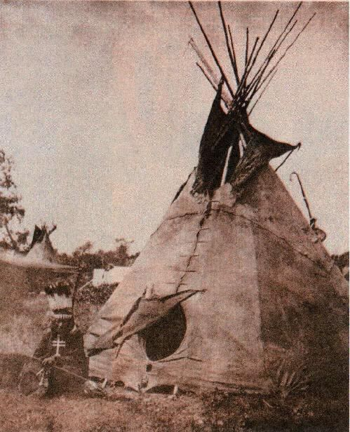 Tipi | The oldest photo of a tipi