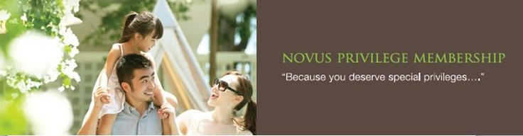 BECAUSE YOU DESERVE SPECIAL PRIVILEGES FROM US…..  Sign up here ! >> http://novushotels.com/membership/