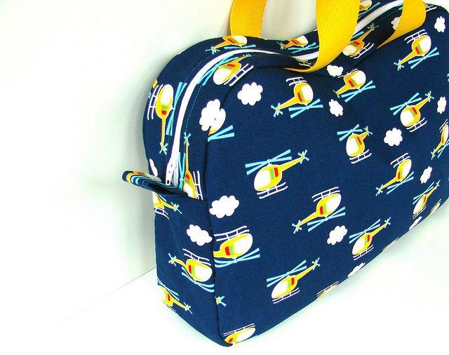 elisanna: 'The Katie bag' voor kleine jongens.