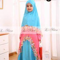 Jual baju gamis balita - jual baju muslim anak - Lintangmomsneed.babyshop | Tokopedia