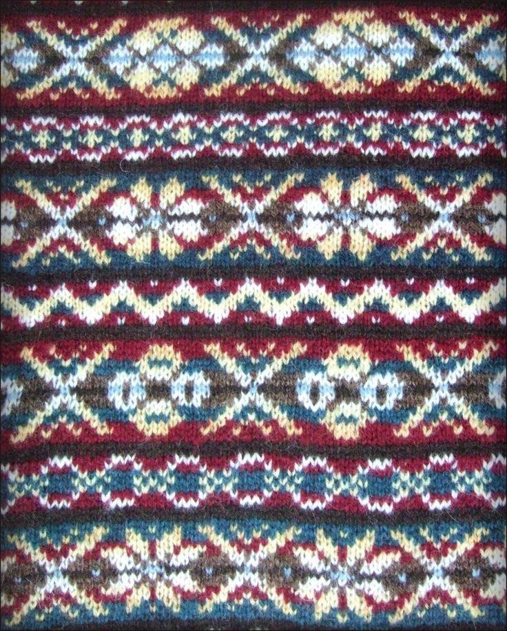 Fair Isle Knitting Patterns : Best shetland knitting images on pinterest fair isle