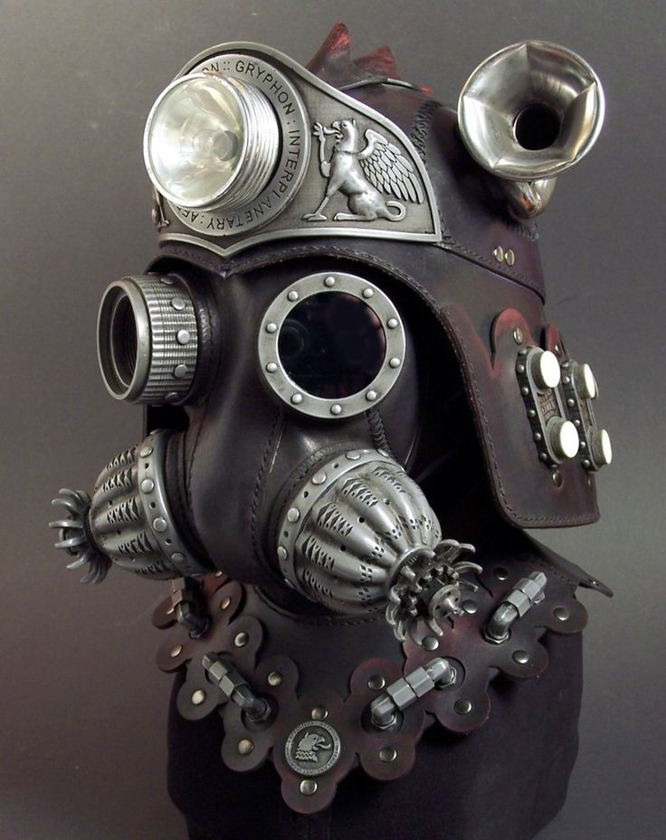 TOM BANWELL LEATHER: Masks : Helmets : Steampunk | Sentinel
