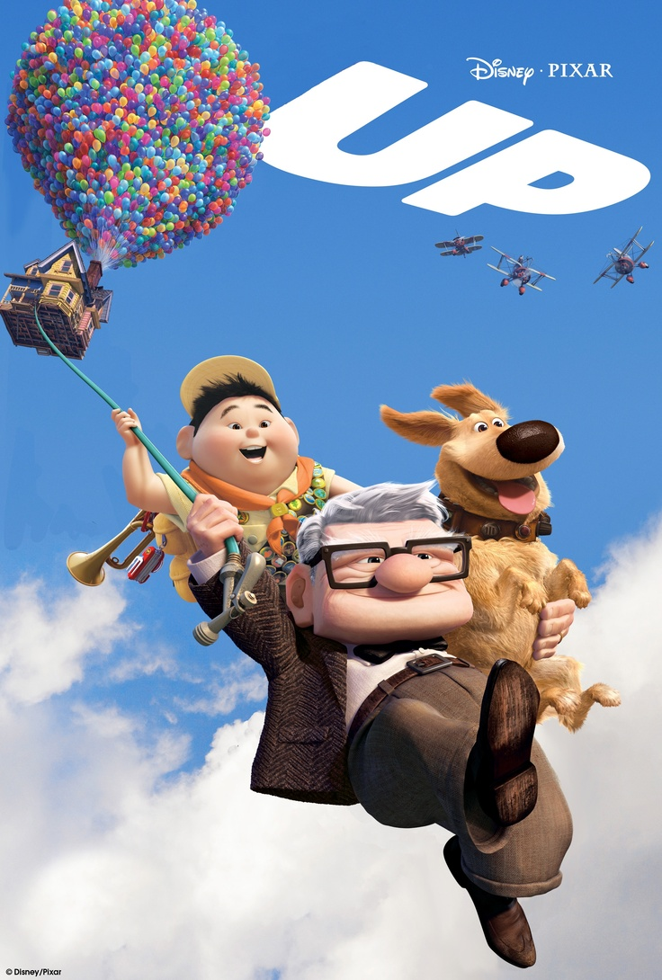 By tying thousands of balloons to his home, 78-year-old Carl sets out to fulfill his lifelong dream to see the wilds of South America. Russell, a wilderness explorer 70 years younger, inadvertently becomes a stowaway.