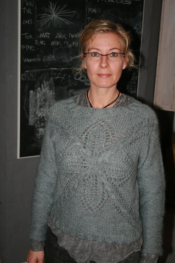 "Nikita Sweater. Pattern from Lene Holme Samsøe ""Mere Feminin Strik""."