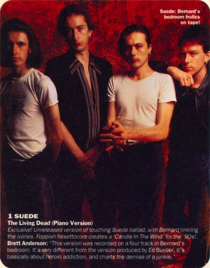 Suede, Select Magazine, 1994.