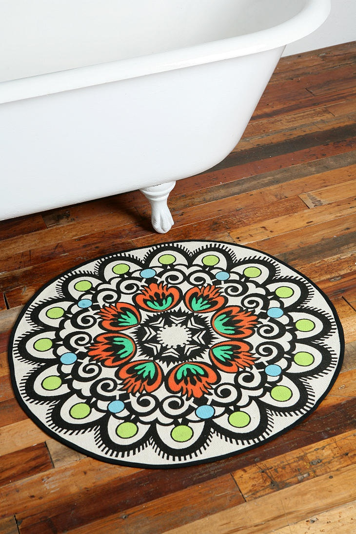 Mandalas Can Be Found In Many Forms Like This Great Rug
