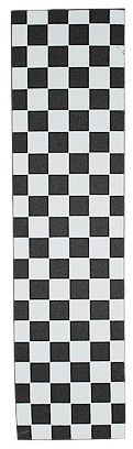FKD Checker Black/White Skateboard Grip Tape (1 Sheet) | Boards on Nord