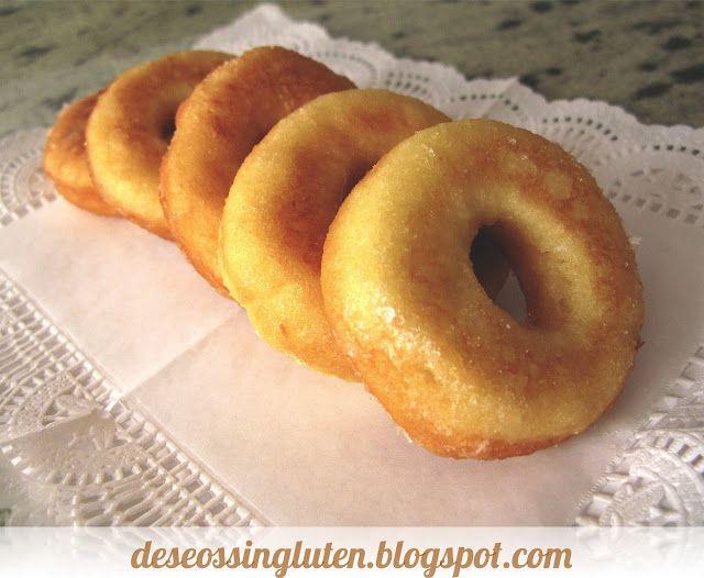 Deseos Sin Gluten: DONUTS CASEROS SIN GLUTEN