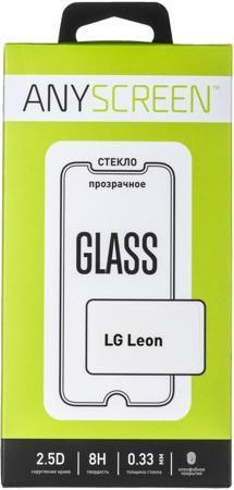 AnyScreen AnyScreen для LG Leon  — 1590 руб. —  Защитное стекло AnyScreen предназначено для установки на сенсорный экран телефона для обеспечения максимальной безопасности. Использование защитного стекла убережет сенсорный экран от повреждений при падении или ударе, а также предотвратит появление царапин или потертостей на его поверхности. Стойкое покрытие сохраняет цветопередачу экрана и чувствительность сенсора, потому владелец может свободно пользоваться всеми функциями своего девайса.