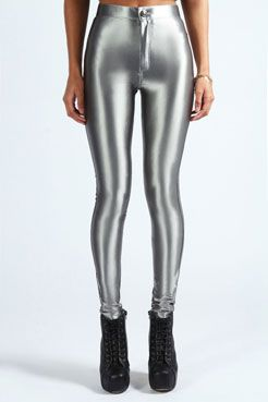 Ellie High Waisted Pocket Back Disco Pants