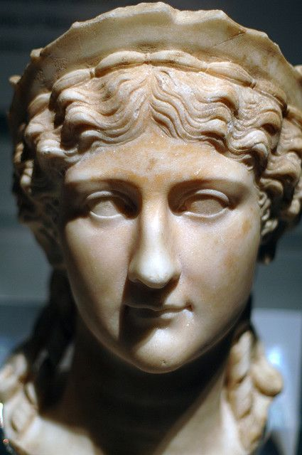 Agrippina the Elder or Antonia the Younger  2nd Half of first Century, CE  Marble, second half of 1st century, CE