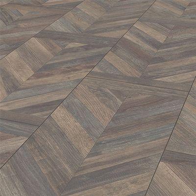 My Style 12.875-in W x 4.29-ft L Chateaux Oak Herringbone Laminate Flooring
