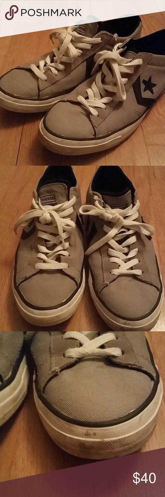 Mens Converse Rare Retro Star Chevron Low Tops Good condition, with some minor scuffs but rately worn. You will have a difficult time finding this design anywhere. Converse Shoes Sneakers