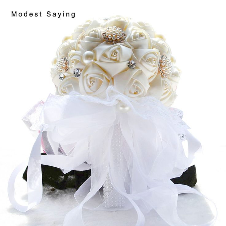 Find More Wedding Bouquets Information about Cream Artificial Flowers Wedding Bouquets 2017 New Fashion Fashion Plastic Rose,Romantic Bridal Bouquets Wedding Accessories,High Quality bridal bouquet,China wedding bouquet Suppliers, Cheap artificial flower wedding bouquet from modest saying Lacebridal Store on Aliexpress.com
