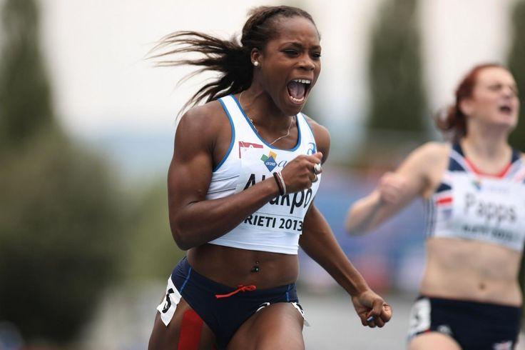 Stella Akakpo, du team benestar, l'une des meilleurs sprinteuses françaises!  #benestarfrance #teambenestar #StellaAkakpo #athletisme