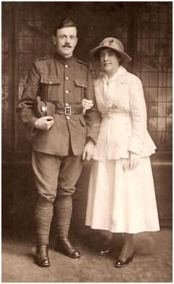 1917 - World War One Wedding Suit  Soldier and his Bride