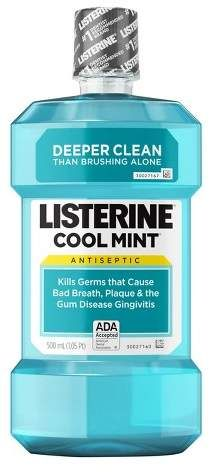 For my cracked heels! Listerine® Cool Mint® Antiseptic Mouthwash To Get Rid Of Bad Breath -AD