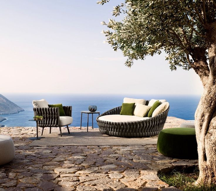 the tosca outdoor sofa is simultaneously warm and inviting stylish and intriguing it was the first time trib called upon a female designer to draw an - Outdoor Mobel Set Tribu