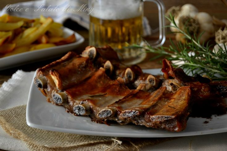 Costine+alla+birra