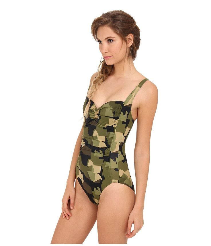 While traditional camo is all about blending in, the vibrant prints at Moon Shine Camo are here to help you stand out. Make a splash at your next beach trip or pool party. Browse our selection of women's camo swimwear today.