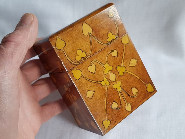 Victorian playing card case