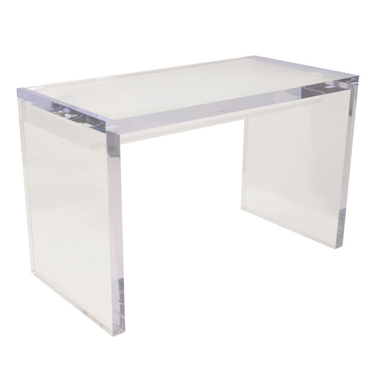 Best 25 lucite table ideas on pinterest acrylic table for Perspex desk