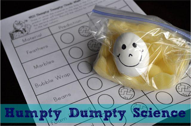 Humpty Dumpty Egg Drop I HEART CRAFTY THINGS: Humpty Dumpty Science
