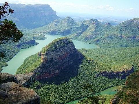 Blyde River Canyon, South Afrika.