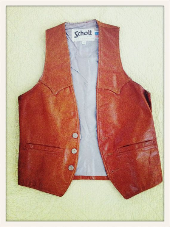 Im on the hunt for a good brown leather vest.