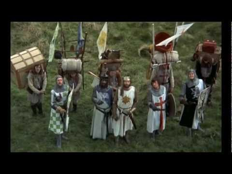 ▶ Monty Python - Holy Grail French Taunting - YouTube