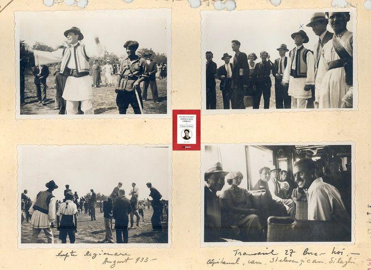 CZC la o serbare legionara si in tramvaiul 27 - Documente din Arhiva Corneliu Zelea Codreanu - INEDIT Arhive Civic Media CNSAS