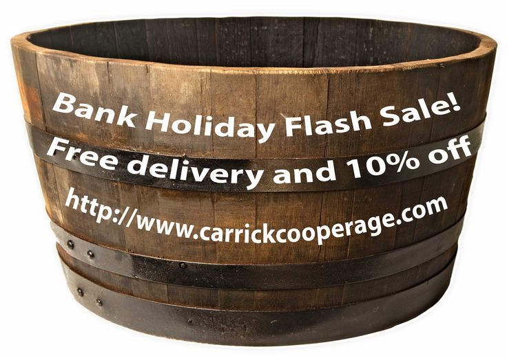 Spring Bank Holiday Sale!  Oak planters, water features, birdhouses and more!
