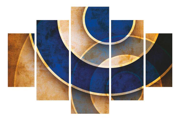 Venta Wallity / 18913 / Abstractos / Quintípticos / Quintíptico