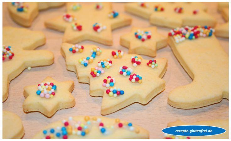 Glutenfreie Butterplätzchen FORMSTABIL! www.rezepte-glutenfrei.de