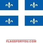 3' x 5' Quebec High Wind, US Made Flag