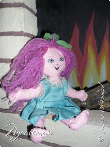 Игрушка Куклы Шитьё  Кукла - позитивчик Ткань фото 3