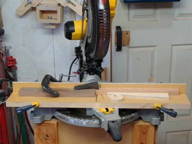 This Is A Simple Miter Saw Jig For Cutting Segments For