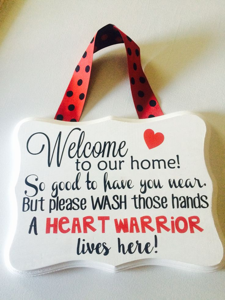 CHD welcome sign