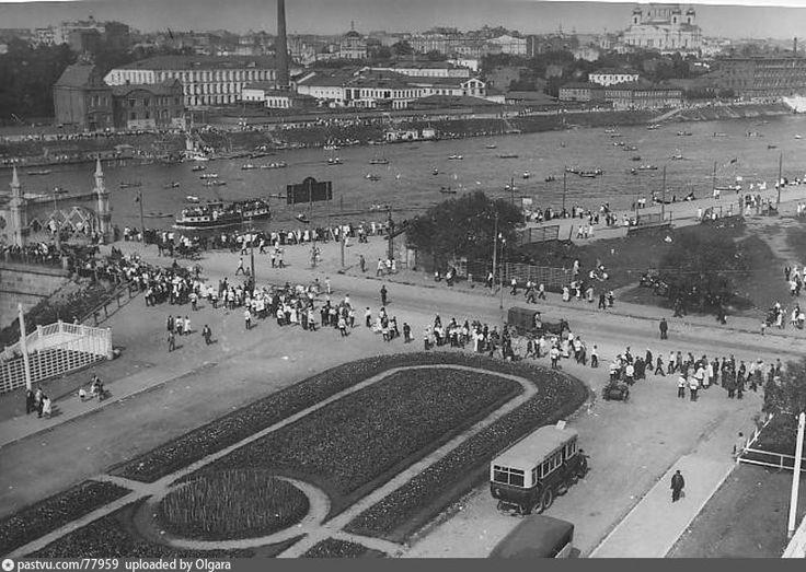 Фотография - Вид из Парка культуры - Фотографии старой Москвы