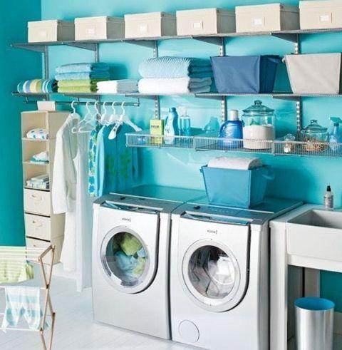 Más de 1000 ideas sobre cuartos de lavado de color turquesa en ...