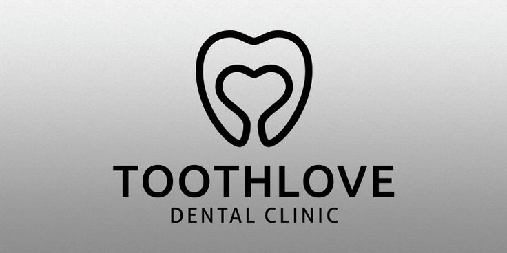 Tooth Love Logo Template for Sale: 29$
