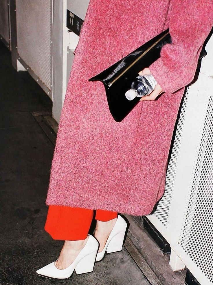 The Céline lean.Hot Shoes, Colors Combos, Style, Fashion Forward, Céline F W, Fw 2012, Pink, Block Heels, Céline Fw12