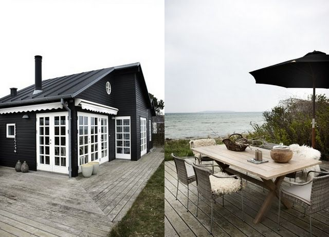 Danish summerhouse via Bolig Magasinet @studiojoyz.blogspot.nl