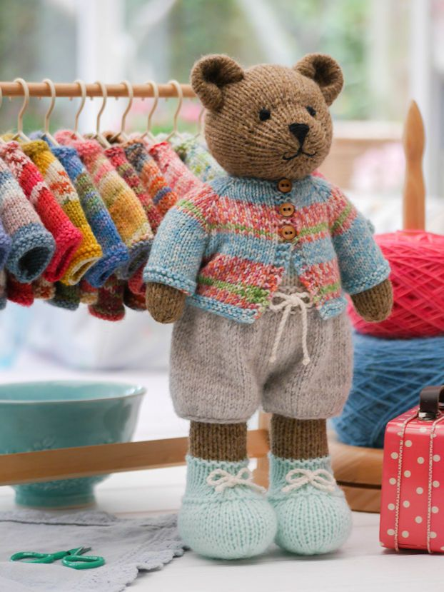Original Doll and Animal knitting patterns