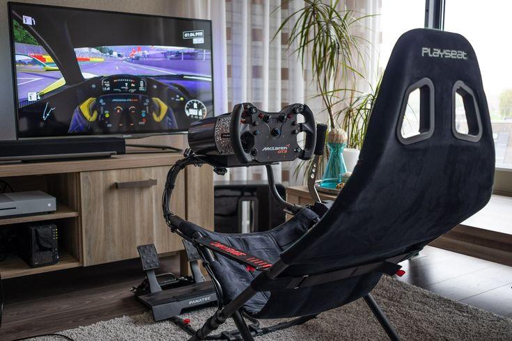 New Fanatec Csl Elite Steering Wheel Mclaren Gt3 My Own
