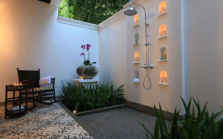10 luxury outdoor bathrooms you need to experience  #6. 137 Pillars House, Chiang Mai, Thailand  via Yahoo New Zealand Travel