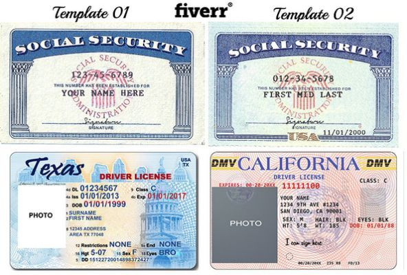 Font Used On Texas Drivers License | Driving license | Birth
