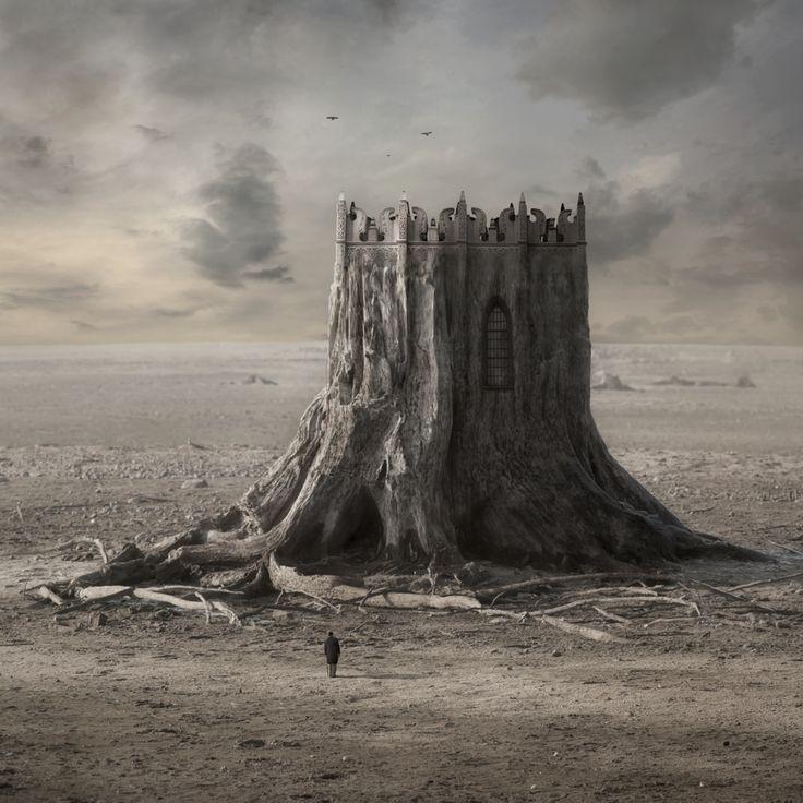 Wooden Castle by Kleemass.deviantart.com on @deviantART